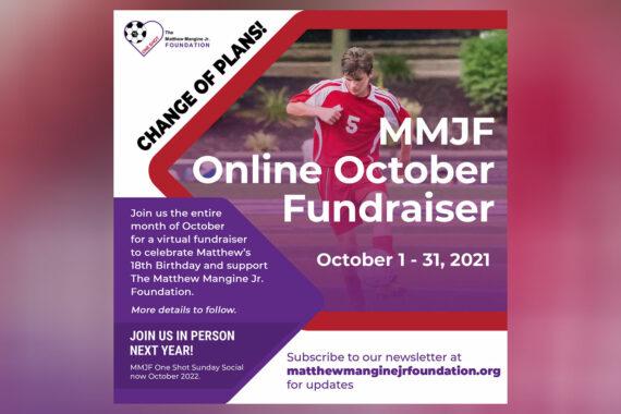 MMJF Online October Fundraiser